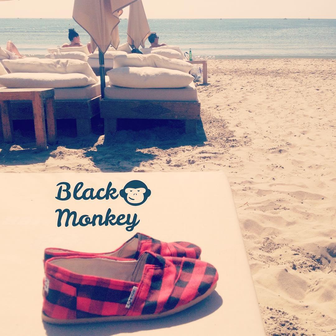 Gran día para dejar tus Black Monkey descansar un rato e ir directo al mar