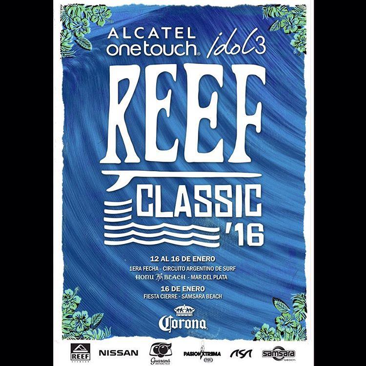 Se viene la edición número 22 del campeonato de surf más importante de la Argentina. Acérquense a @honubeach.mardelplata 12 al 16 de enero para disfrutar del mejor Surf!!! El 16/1 desde las 14.00hs: Entrega de Premios + Desfile Miss Reef +...