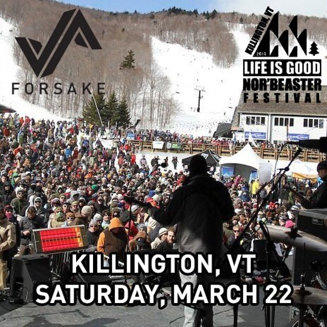 Swing by our tent @killingtonmtn on Saturday for the #NORBEASTER festival and try on some Forsakes!