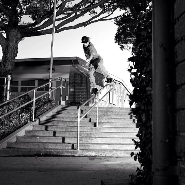 @lukeshootsphotos shot from #issue30 #steezmagazine of #troyclawson #backblunt #redondobeach #california #skateboarding