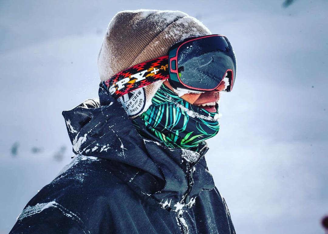 Smile through #elnino2016 in the SPY + @wileymiller Doom collab snow goggle with #HappyLens.  Shop through the link in our bio! #SEEHAPPY .
