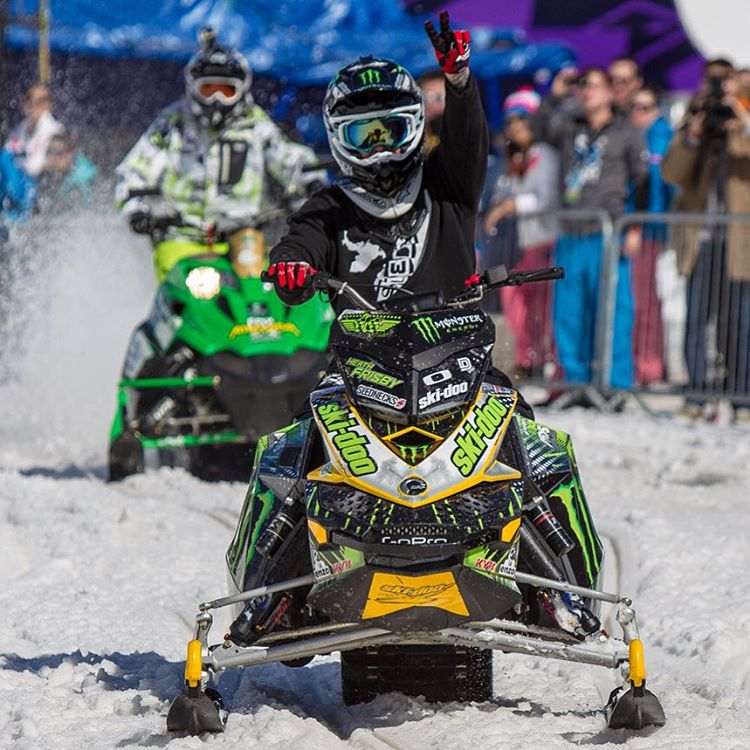 Frisby out! ✌  #XGames Aspen Snowmobile Freestyle is goin' down Fri., Jan. 29 on @ESPN.