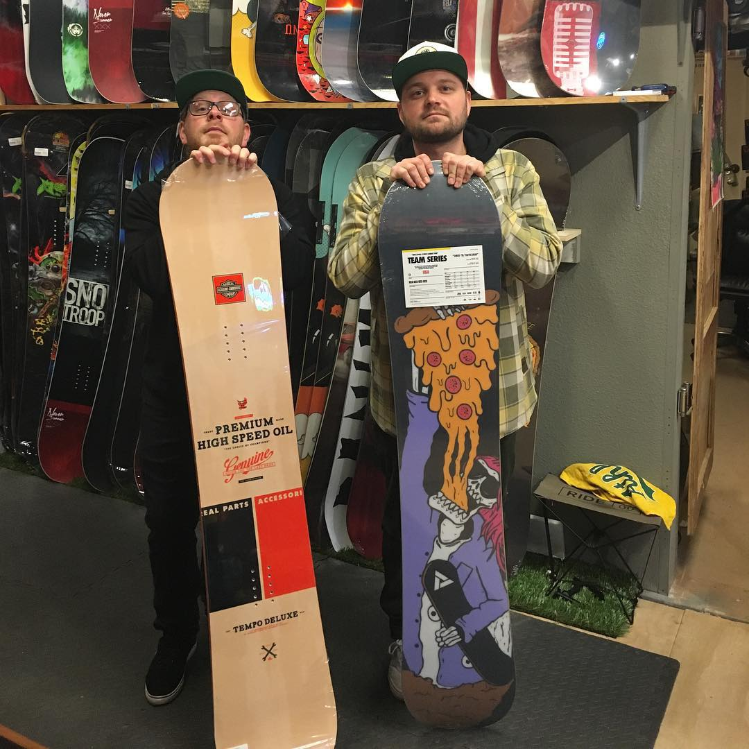 Meet Jason and Levi @milo_auburn - Milo Auburn is a full service specialty Snow and Skate shop that transplanted from the Bay Area. Our goal is to provide excellent customer service and product selection. We are here to help the snow and skate...