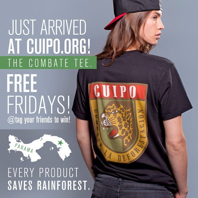 FREE FRIDAY!!! Tag your friends in the comments to win or go to Cuipo.org to purchase today. #cuipo #saverainforest