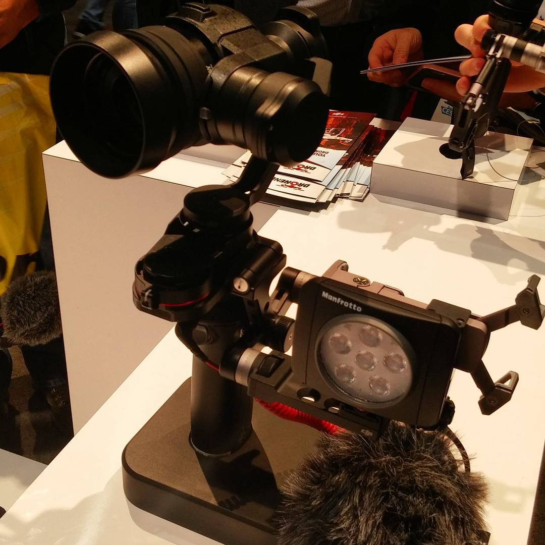 Guess what you can buy soon... #CES2016 #IamDJI #CES #WhatsNext #X5 #OSMO