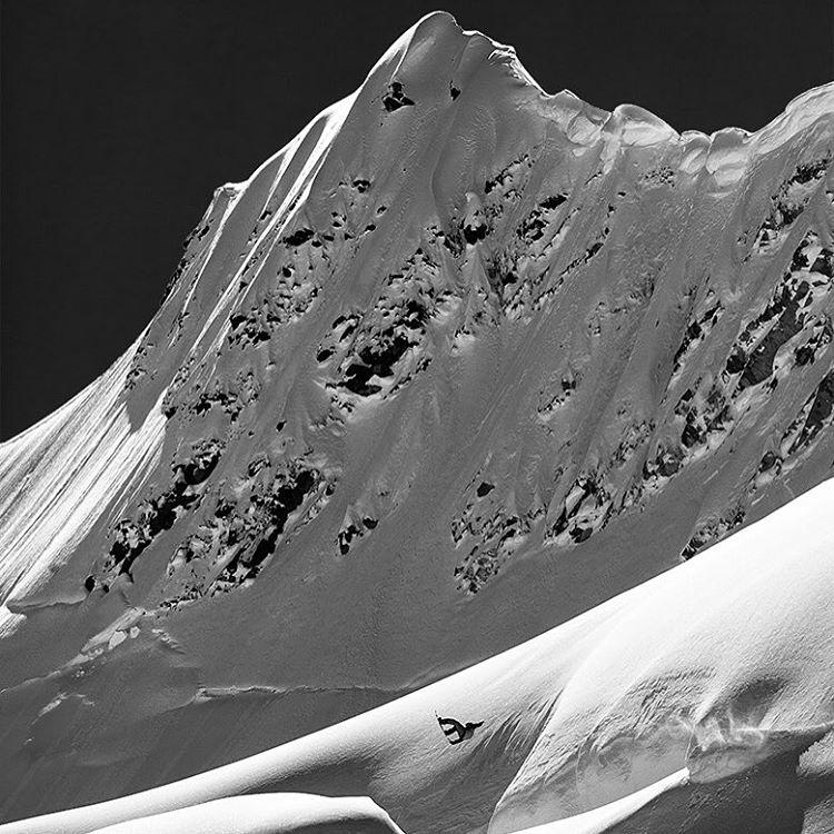 Rider: @travisrice  Deeper, Teton Gravity Research Glacier Bay National Park, Alaska  April, 2009 Photographer: @danmilnerphoto  The Trilogy Collection is now live. Link in profile.  #trilogycollection #jeremyjones #tetongravityresearch #asymbol...