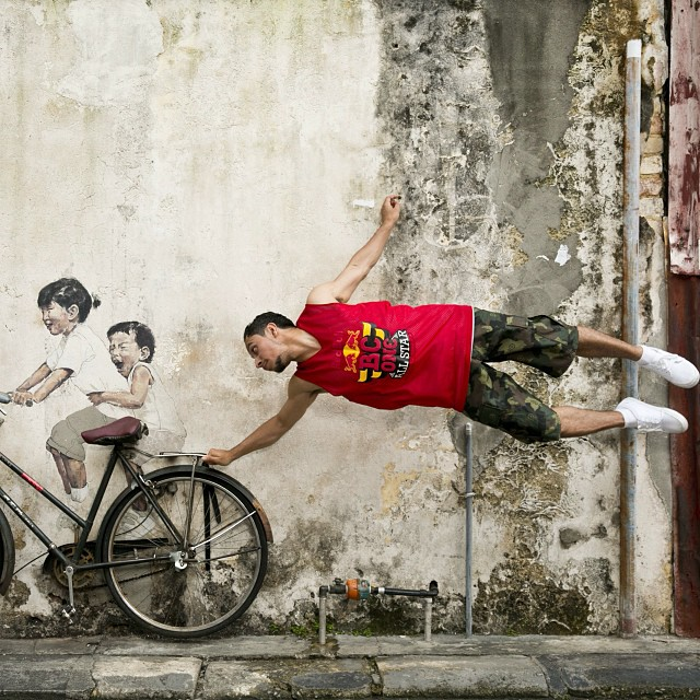 Give me a lift... @bcone @RoxRite