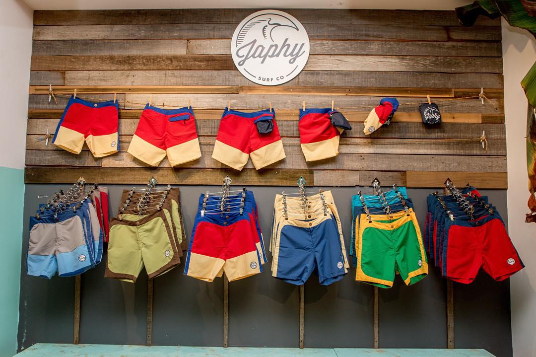 If you're anything like us, you feel that trunks aren't just a summertime thing.  So cruise through @oceanbeachoutpost to shop an assortment of local brands and snag yourself a pair of trunks off the Japhy wall.  @japhysurfco #japhysurfco...