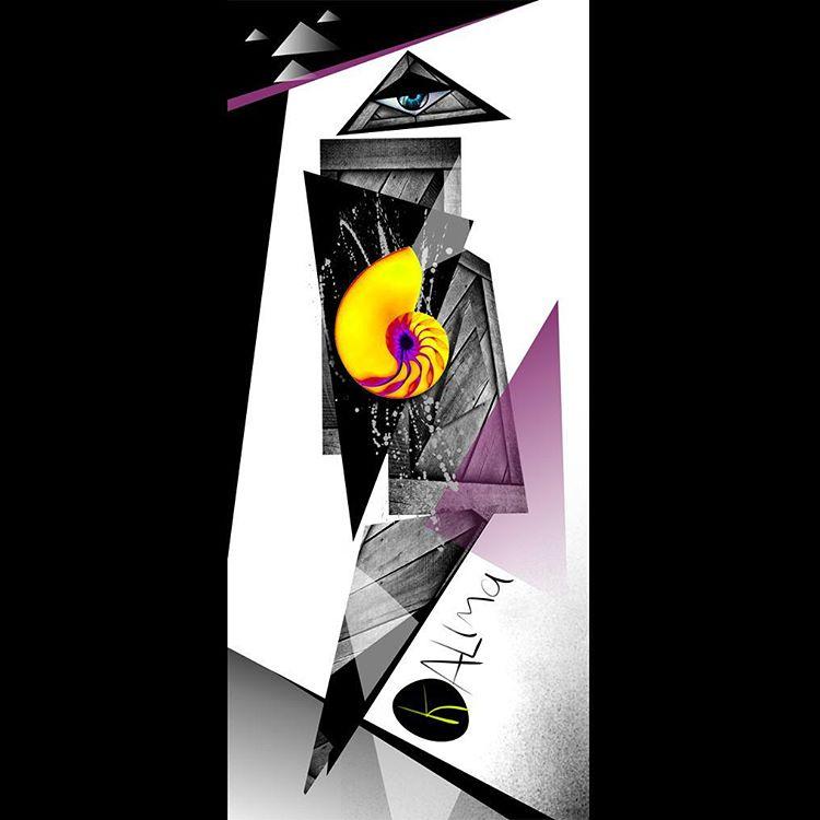 Kalima Kübra Graphic #skatelife #longboard