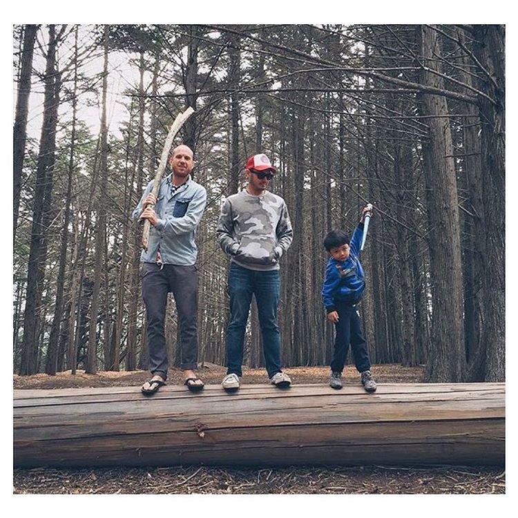 Big sticks, crisp air, and imaginations running wild. ✔️ @jaylara #Double6sandal #PrahuShoe #Indosole #TiresToSoles #SolesWithSoul