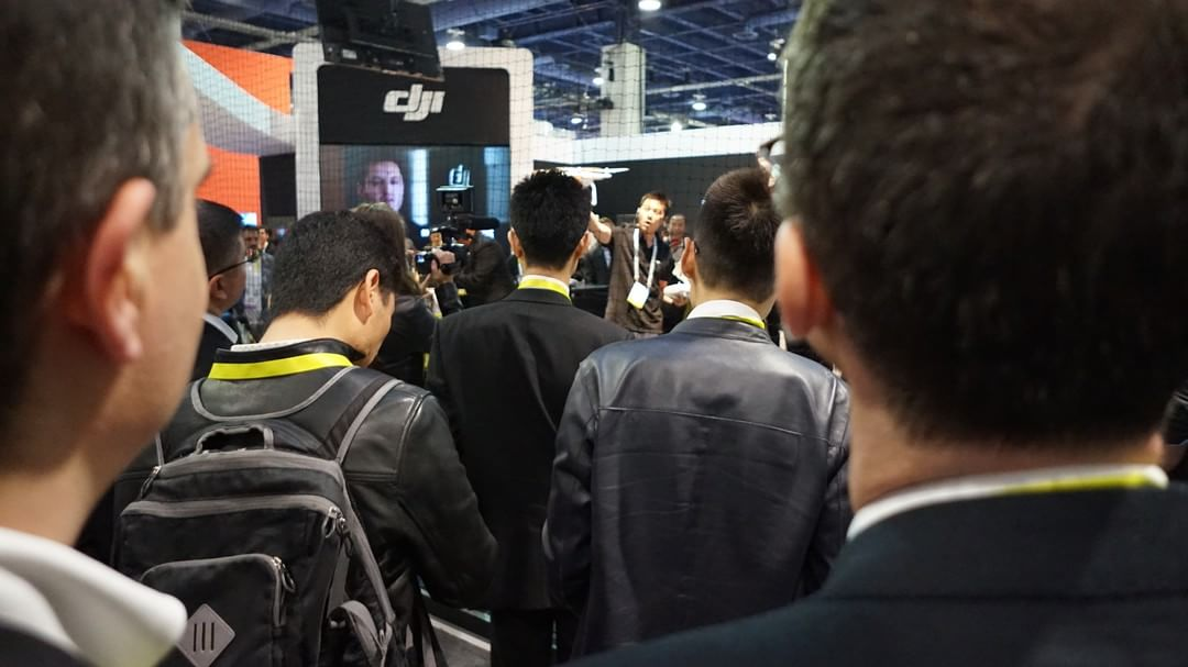 Don't just stand there. Join the #DJI ecosystem at #CES2016.  South Hall 25602. #WhatsNext