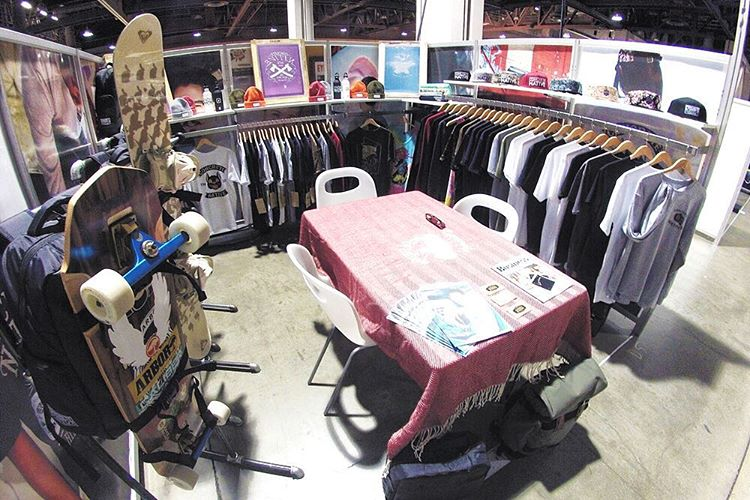 Agenda Show January 2015. We'll catch ya at the next one! #tbt #throwbackthursday #agenda #agendashow #agendaLBC #skatelife #sk8life #tradeshowlife