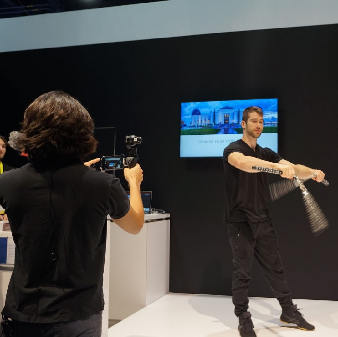 Don't just stand there and watch, grab an #OSMO at #CES2016 #DJI booth (South Hall 25602) and be part of the DJI ecosystem.  #WhatsNext #CES2016