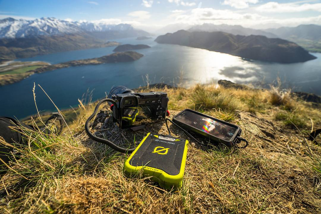 The Venture 30 and it's dual USB output.  Photo: @chrisburkard  #getoutstayout