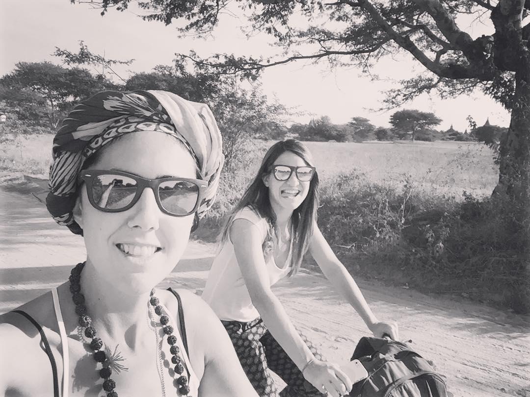 On the road! #trippingmood #myanmar #benga #bagan #yosoydibago