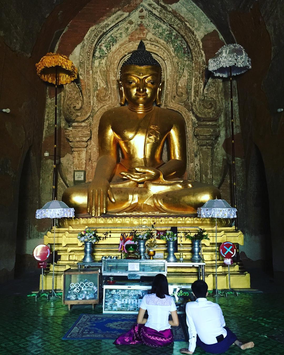 Resplandores #trippingmood #benga #myanmar #bagan