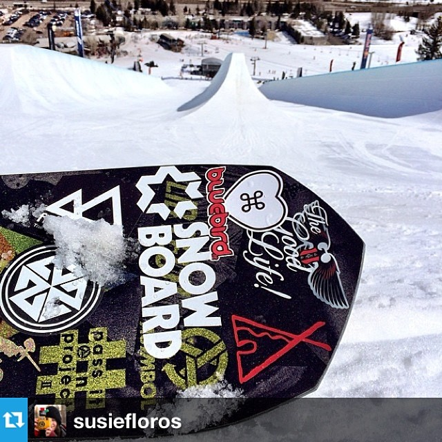 Yeah @susiefloros !! #passitonproject meets @redbull #doublepipe @travisrice @libtechnologies #wheretonext?