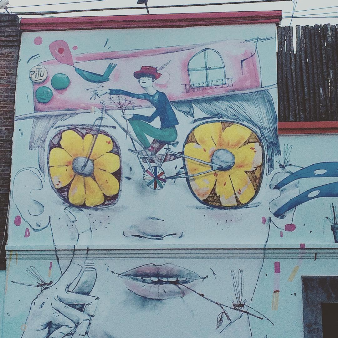 #streetart #Palermo #BuenoAires #paseoenbici #bici