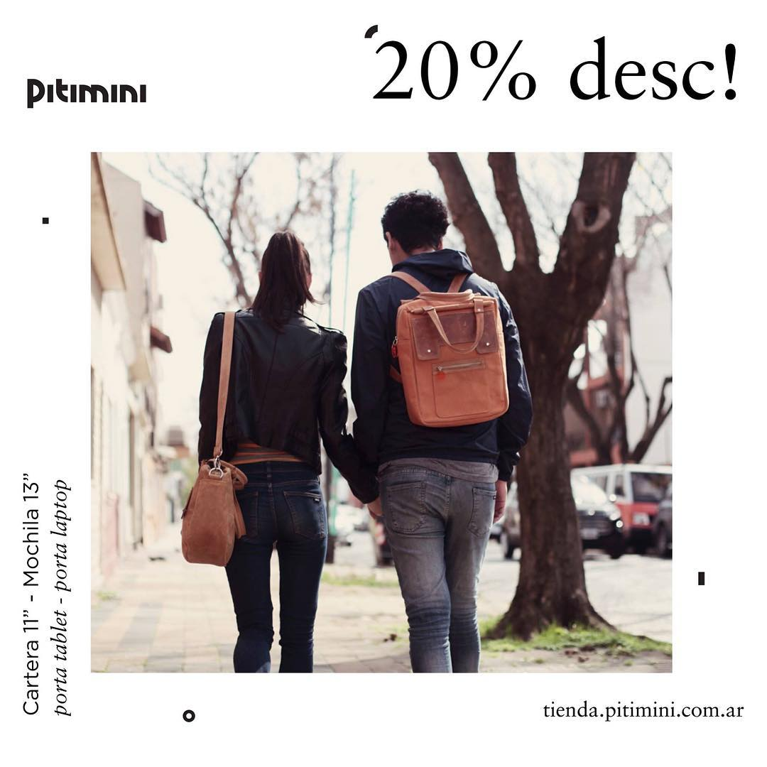 Siguen los descuentos en nuestra web!! Tienda.pitimini.com.ar #portanotebooks #descuentos #navidad #emprendedores #regalos #compraleaunemprendedor ;)