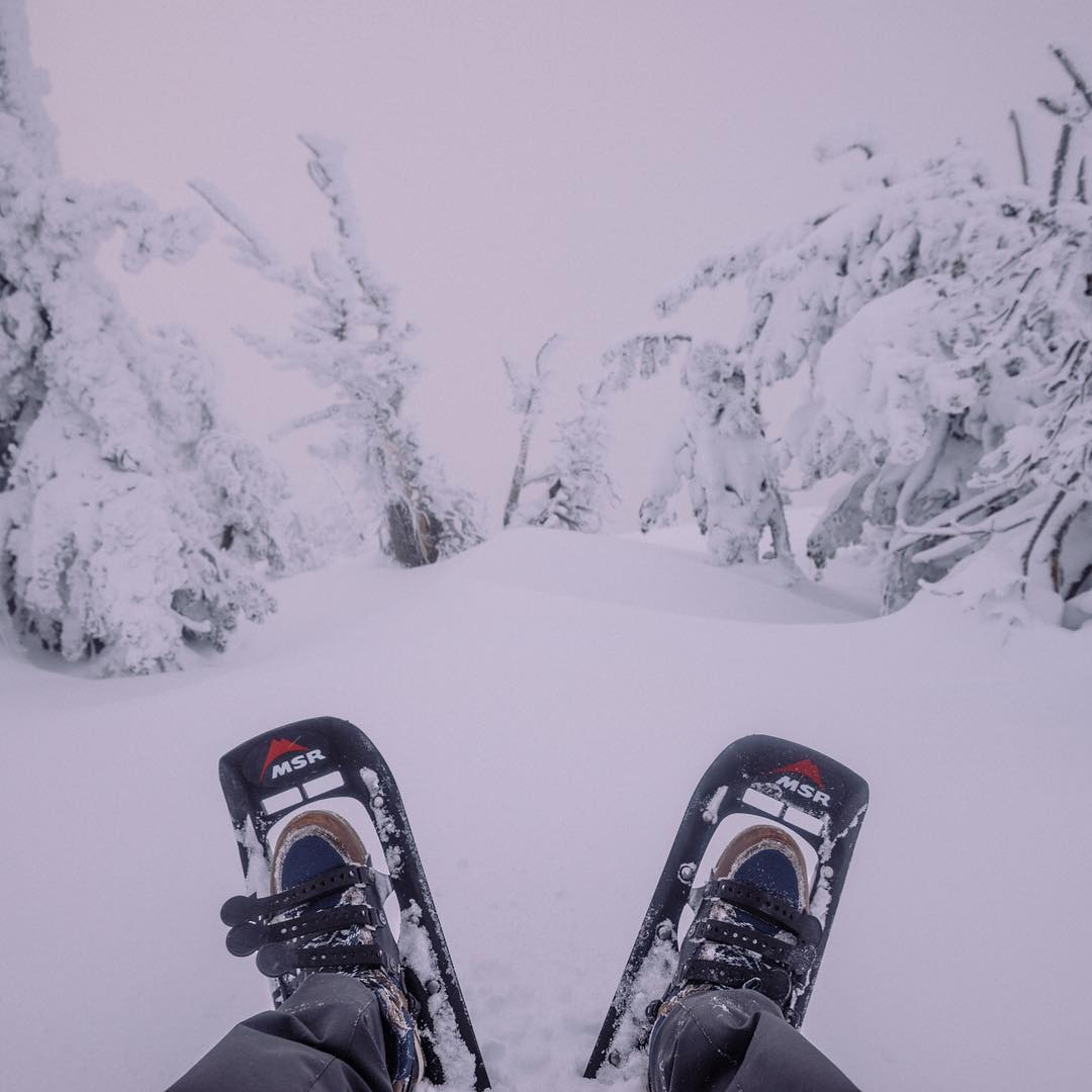 Here's to winter adventures in the Clydes!