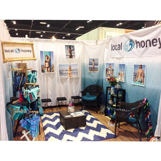 Headed to @surfexpo next week? Make sure to stop by the Local Honey Designs Booth #3138 and check out our Spring 2016 line!