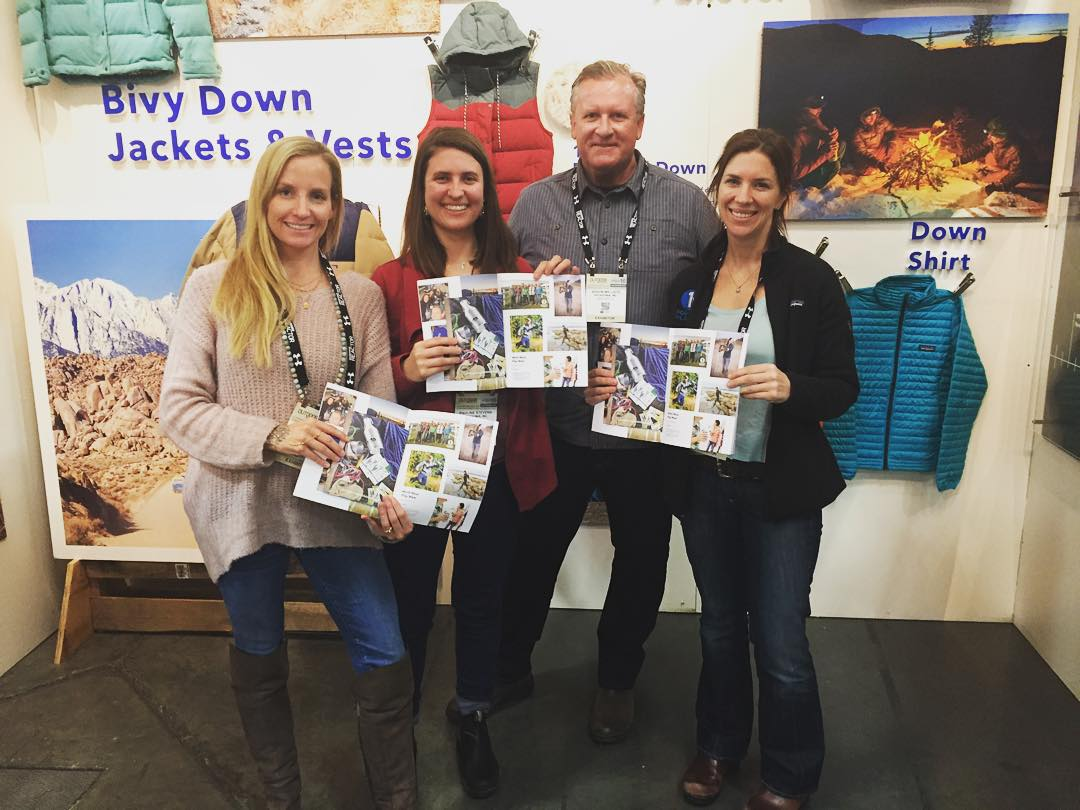 With @OutdoorRetailer in full swing, we're psyched to bump into friends from @patagonia and see the @1percentftp team photo in their latest catalog!  Are you at #OutdoorRetailer? Drop us a line!