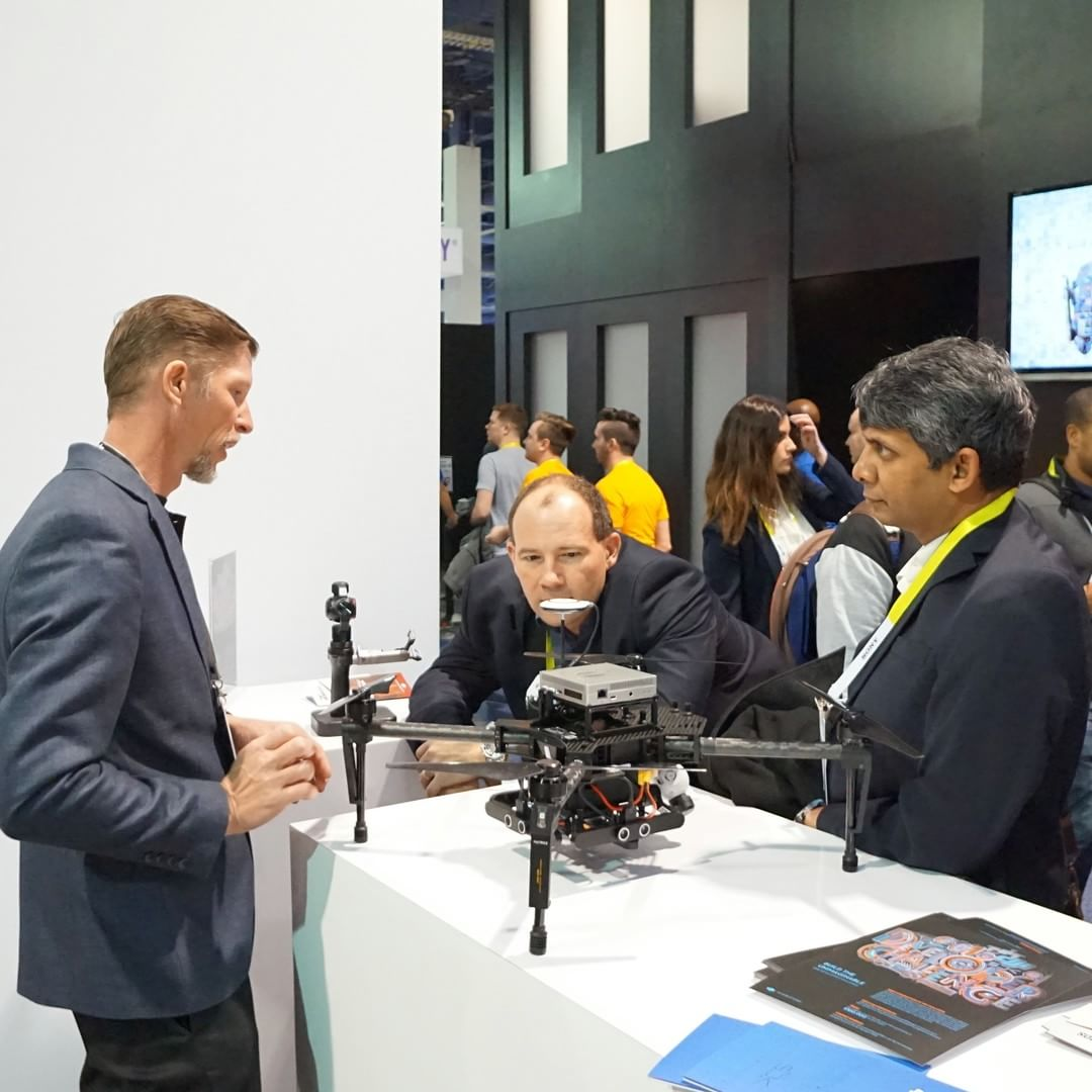 Developer solutions on display at the #DJI booth at #CES2016 South Hall 25602 #WhatsNext  2016 Developer Challenge now on. Visit developer.dji.com/challenge2016 for further information  #IamDJI #SDK