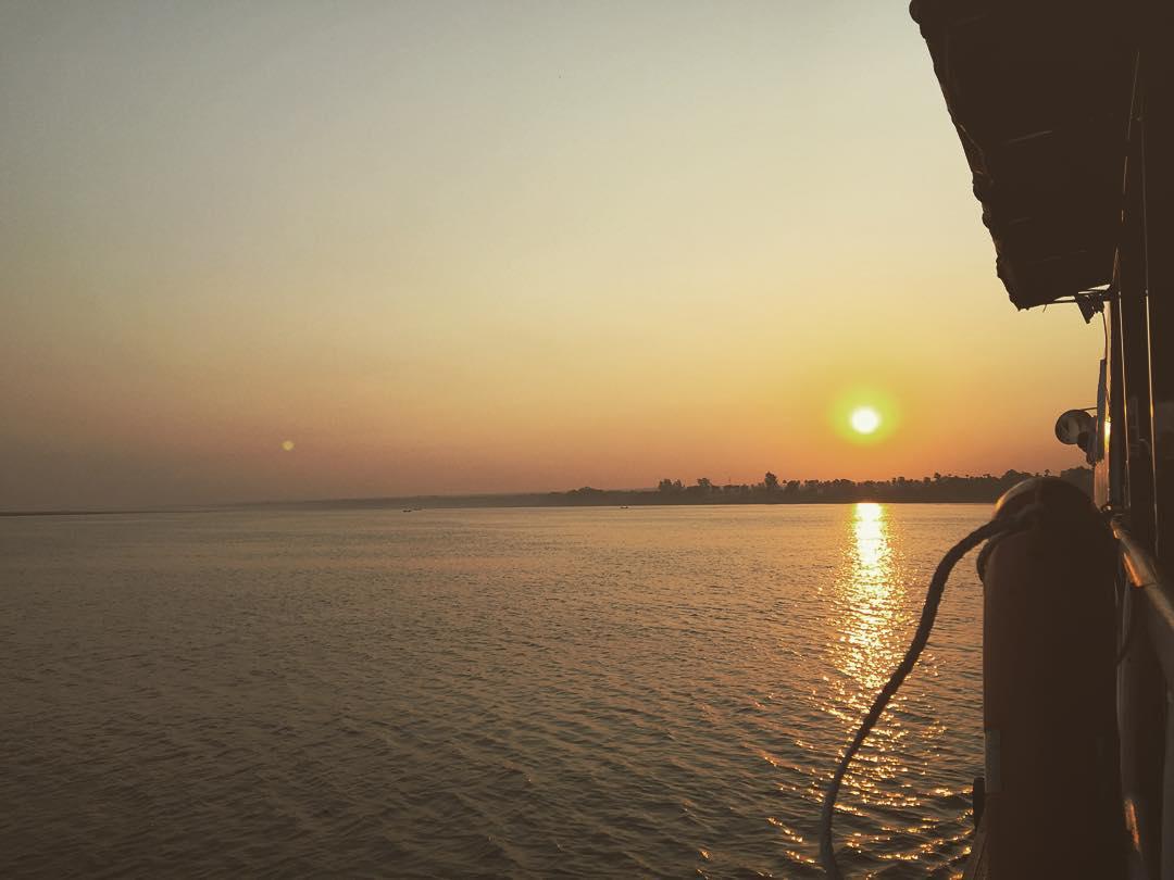 Endorece tu vibrar! #sun #boat #myanmar #benga