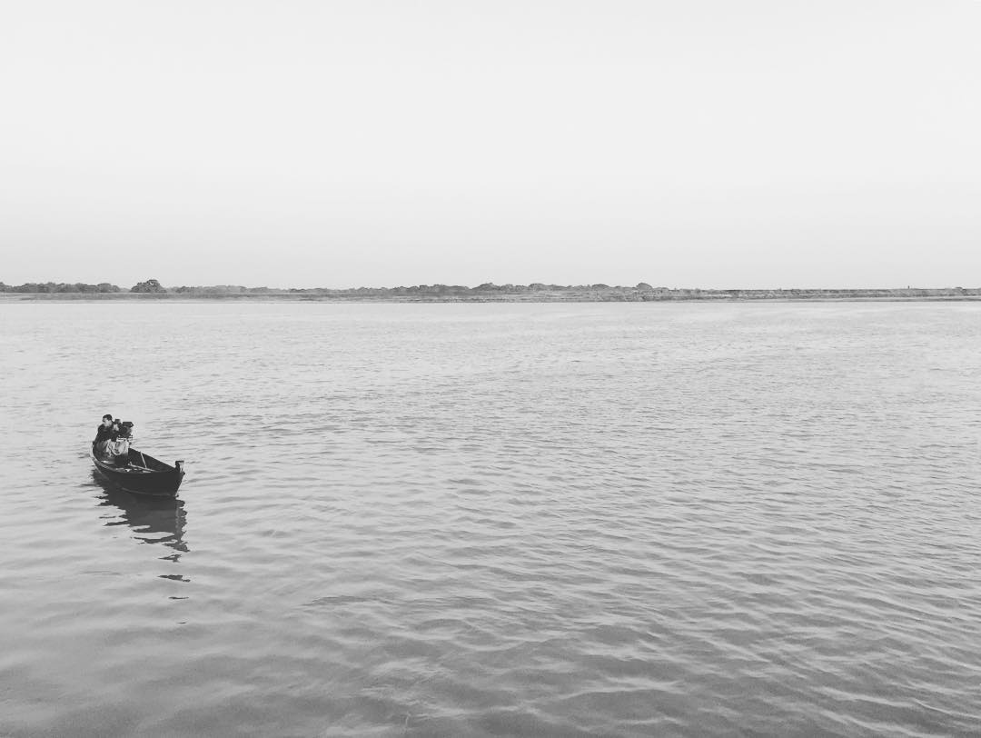 Seguros! #benga #myanmar #boat #mandalay