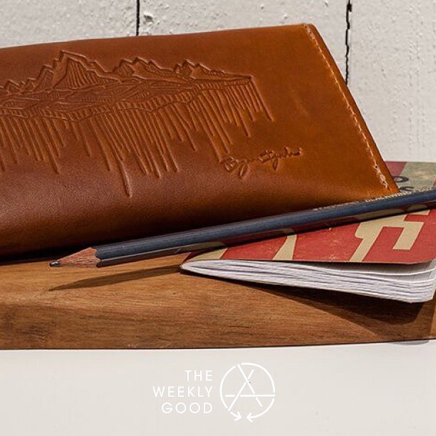 The Weekly Good for this week is the @bryaniguchi Field Case.  Expertly handcrafted by @redcloudscollective and the perfect size to hold the necessities.  #theweeklygood #asymbol #asymbolessentials #bryaniguchi #redcloudscollective