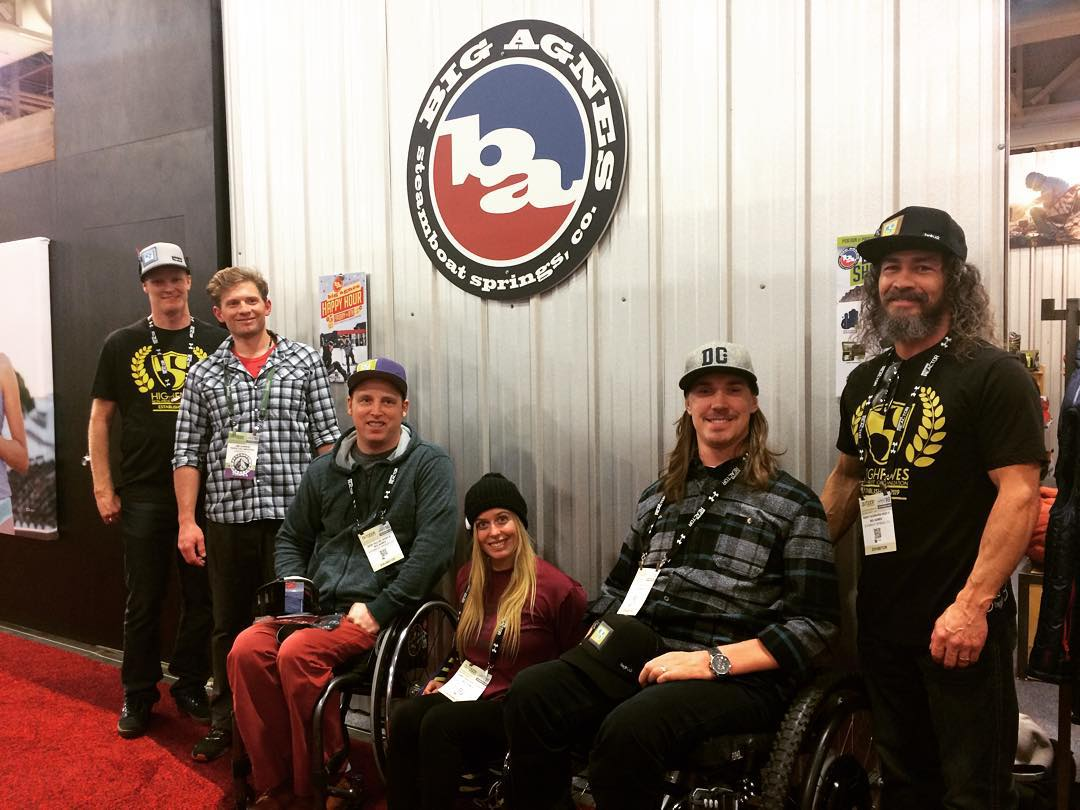 Things turn out best for the people that make the best of the way things turn out. High Five @bigagnes_ for bringing this inspiring crew together! #highfivesathlete #ORshow