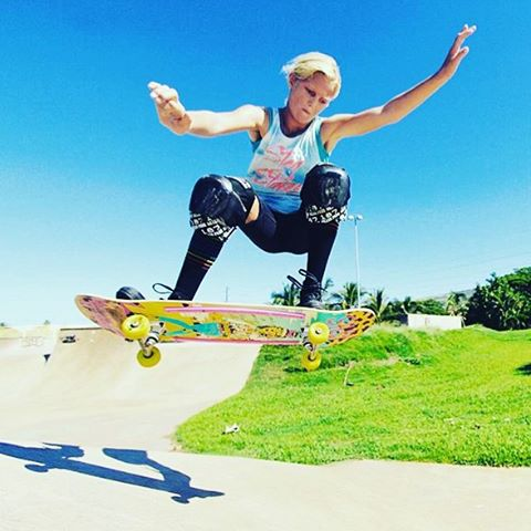 Happy Birthday to the awesome #brycewettstein ! This is one of the sweetest girls we know, but watch out, her skating is fierce! #ladiesofshred