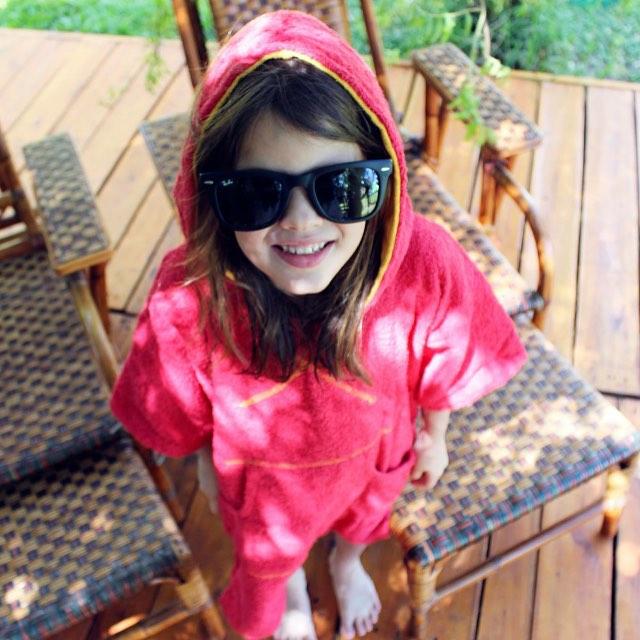 Para los más chicos, elmandarina kids, ideal para antes y despues de la pileta o la playa