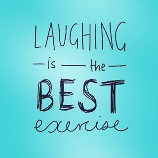 Make sure to get your daily laughter exercise in!!! Laughter cures all ☺️