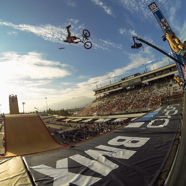 Sending it! #xgames (Photo @gopro )