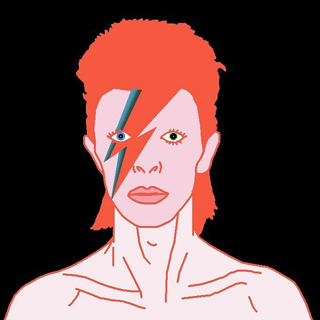 FUKU-DO #goodbye to the legend #davidbowie