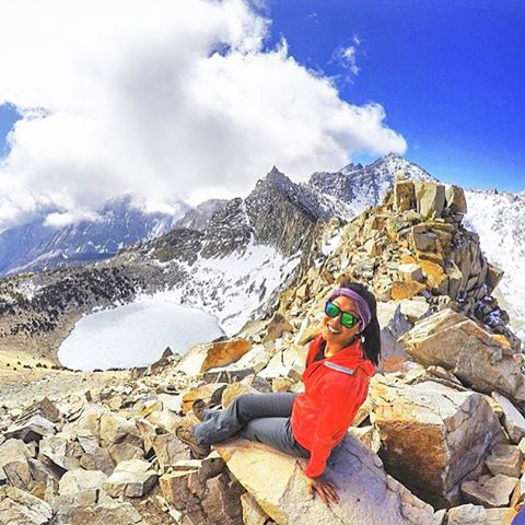 The mountains are calling!  @aliceinwonderland rocking the Bali  Have a KZ Beanie? Hashtag #kzbeanie in your pics or DM them for a chance to be featured!  #Kameleonz #hiking #LifesABeach #EnjoyTheRide