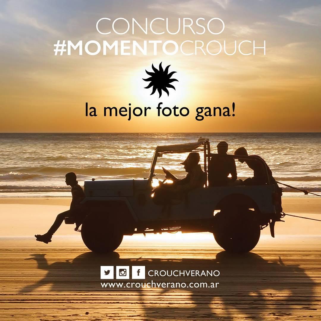 ¡Arrancó el CONCURSO #MomentoCrouch!