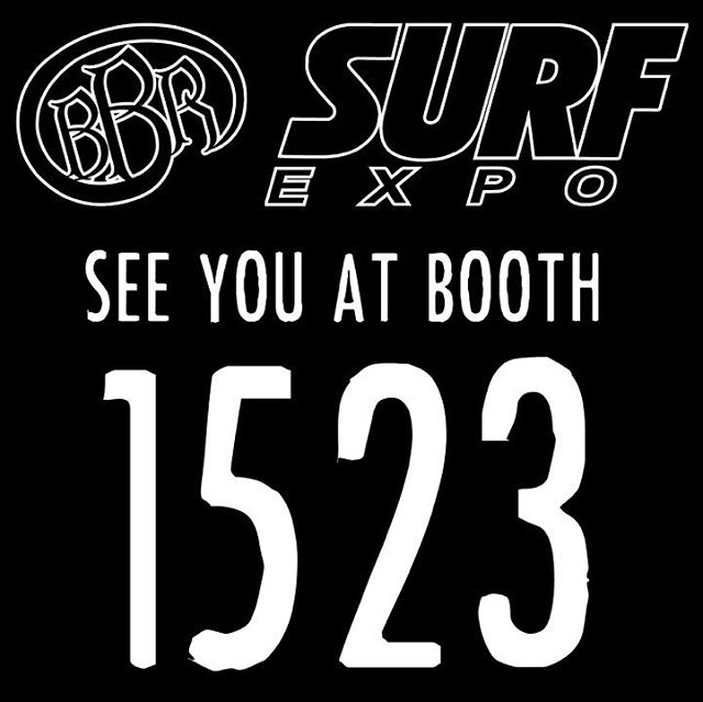 See you there!  #surfexpo #orlando #florida #booth1523 #bbr #bbrsurf #bbrsurfwear #buccaneerboardriders