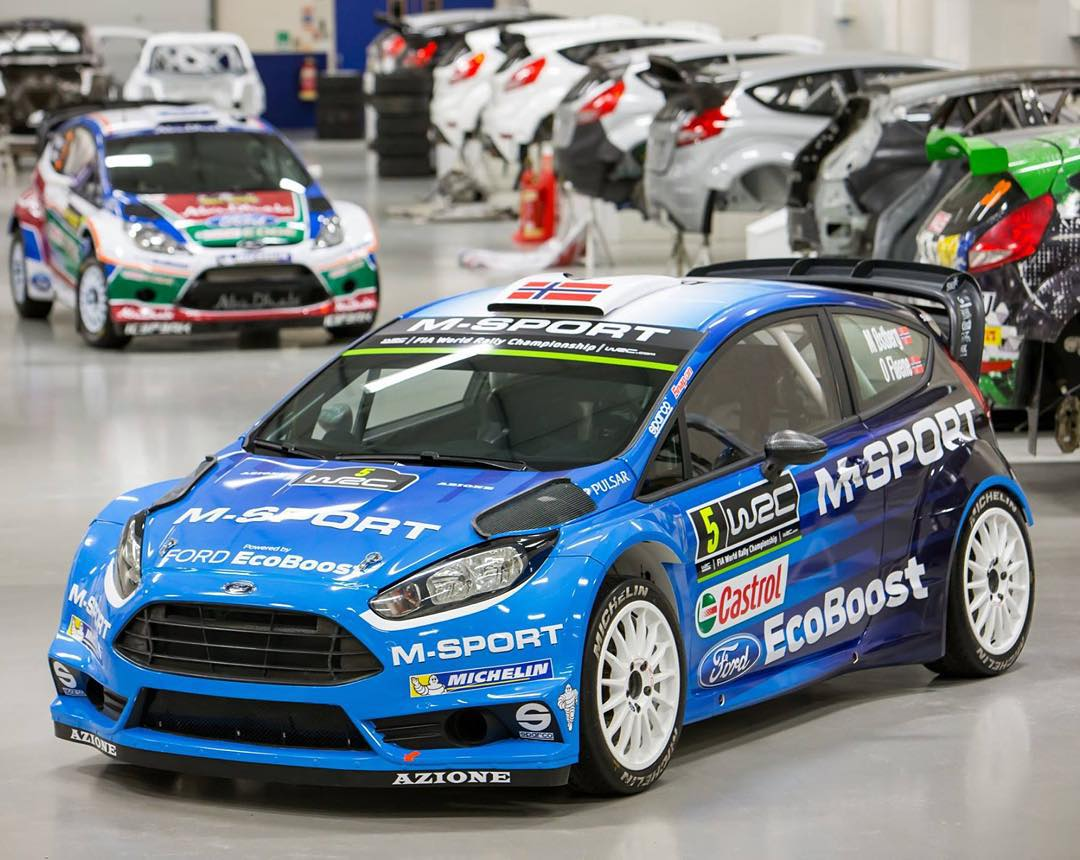 @MSportLTD just launched their latest evolution of their FIA World Rally Championship fighting weapon: the Ford Fiesta RS WRC car. And damn, it looks good! I may be a liiiiitle bit biased though, since this Fiesta chassis is what my rallycross car is...