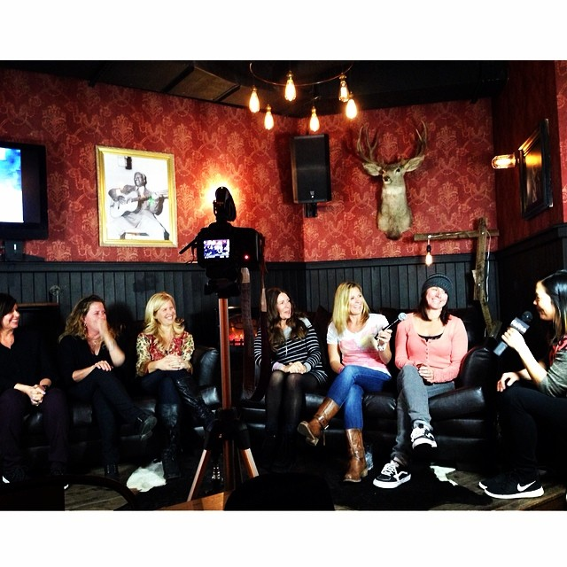 "MAHFIA SESSIONS // Incredible panel happening at @UndergroundMammoth right now, the first ever #MAHFIASESSIONS powered by @GroupY: an Exclusive Industry Panel ""Tribute to Female Pioneers in Snowboarding"". Some of the most influential women in action..."