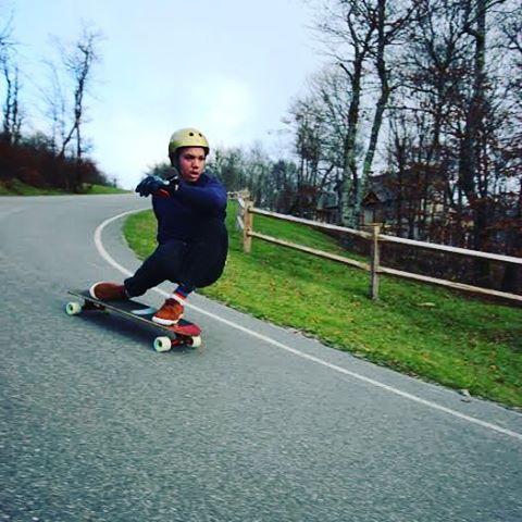 Brady Koch--@brady_koch12 flying through North Carolina on the MC Cat board!