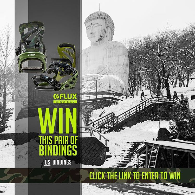 Here is a NEW way to WIN Flux DS Reflective Camo Bindings! It's easy, just click the link in our Instagram profile to sign up for an additional entry to win. The winner will be selected by Flux team rider Ian Sams @iansams on January 30th. Good Luck!...