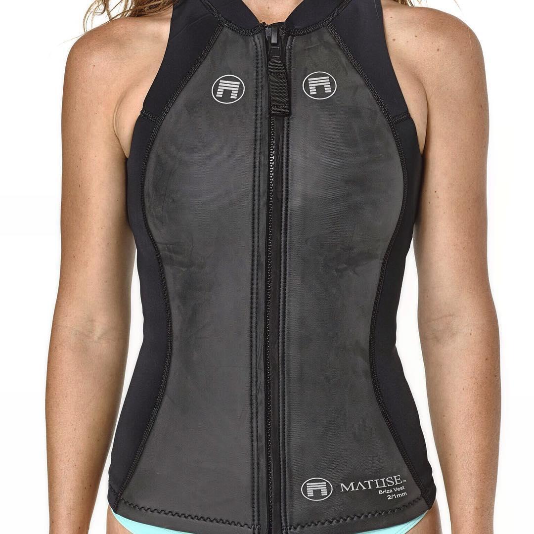 @surfkat well suited in the 2/1mm Briza Vest aka the Ichiban aka #geoprene aka straight out of Moonraker PC @patmaus #lovematuse #ckth #ichibanisichiban