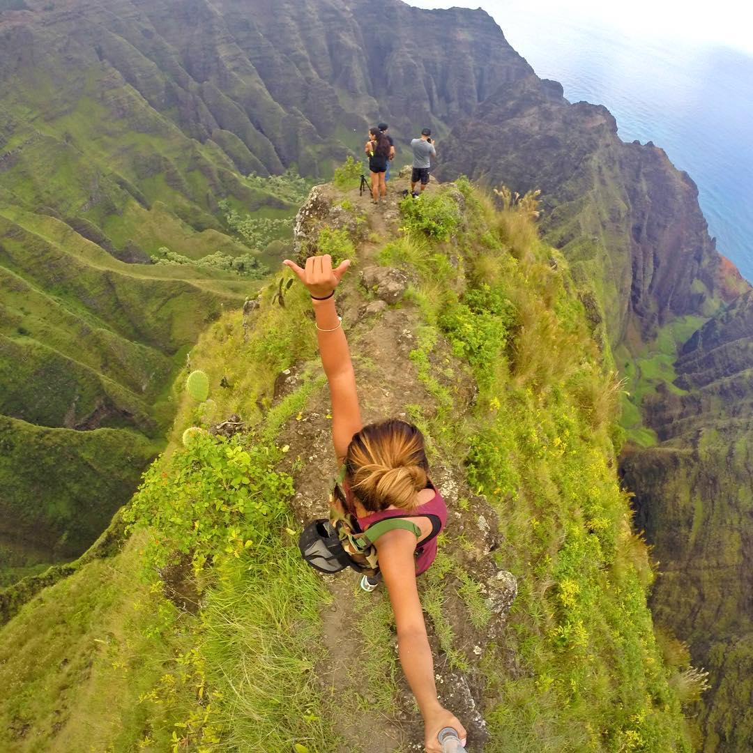 "Top 5 winner from GoPole New Year Photo Contest, ""Home Sweet Hawai'i"" by @venturehawaii #gopro #gopole #gopole2016 #hawaii"