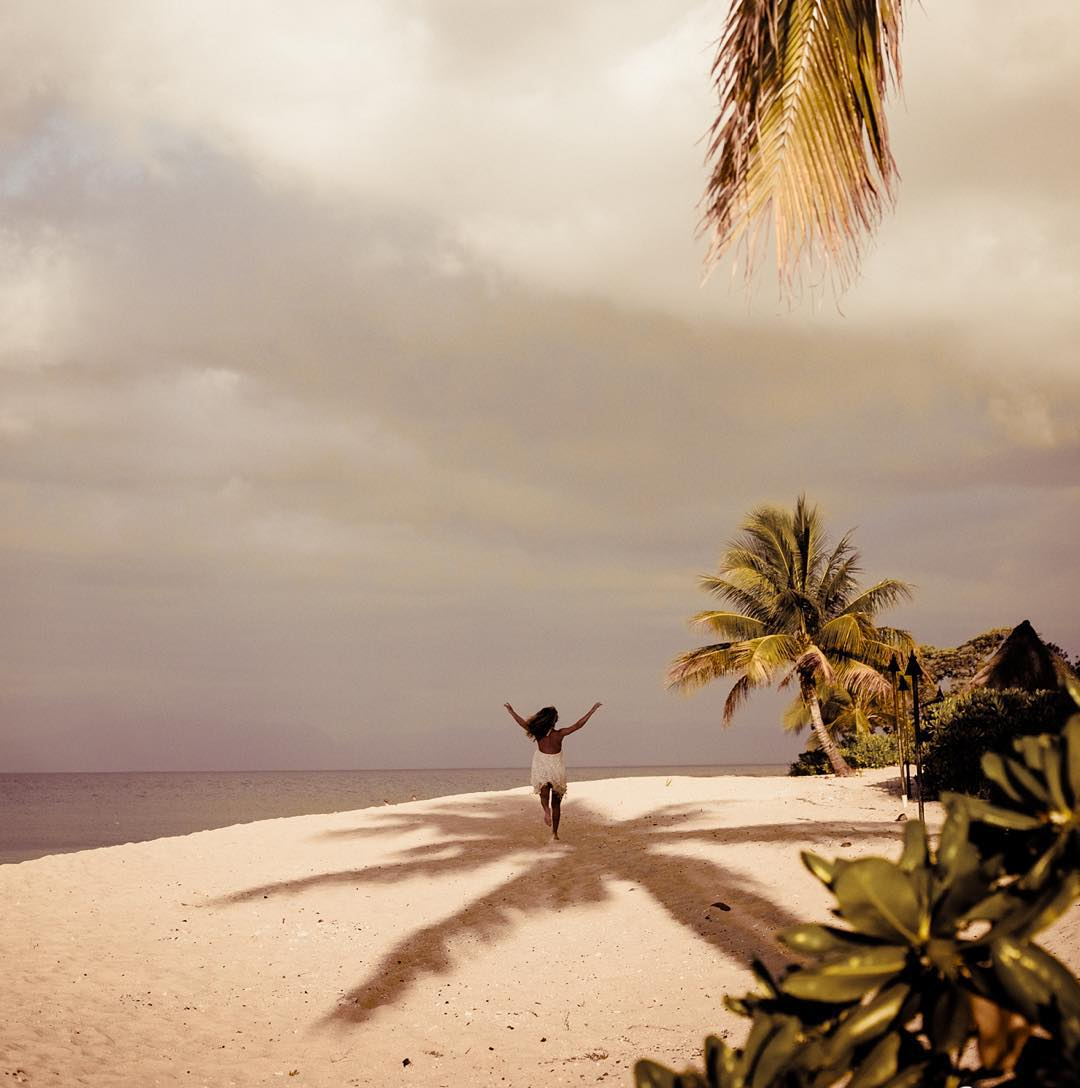 Be brave and never live in someone else's shadow - unless it's a palm tree of course...