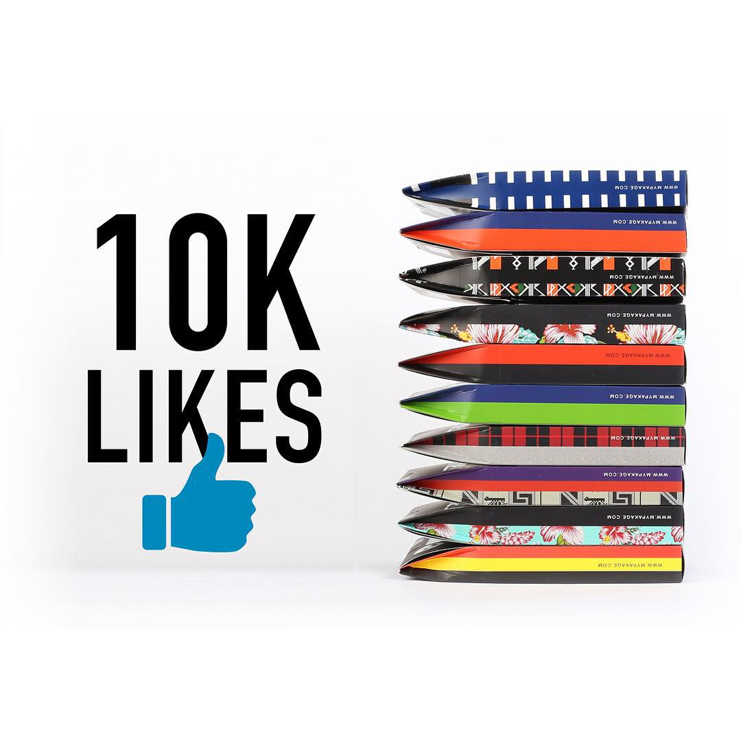 We are giving away 10 pairs of MyPakage on our Facebook page. Go to www.facebook.com/mypakage to enter!