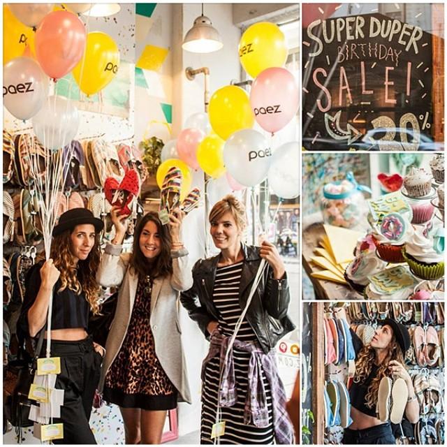#WeCelebrate #PaezBday • Continuamos con los festejos de nuestro 8vo Cumpleaños! • Durante el mes de marzo recibimos la visita de importantes fashion bloggers de Argentina en nuestro store de Av. Santa Fe 1699. [ Ver el album de fotos —>...
