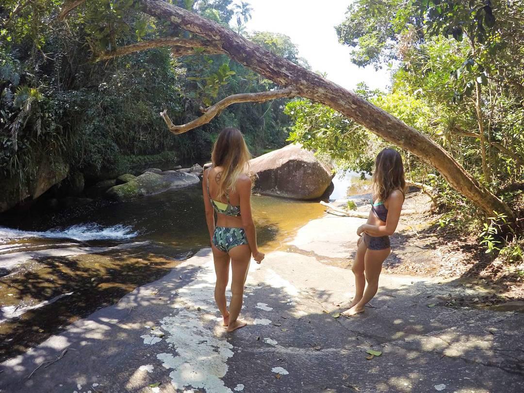 Peahi bikini in Bananos&Flawel #katwai #swimwear #sisters #cachoeria #brasil