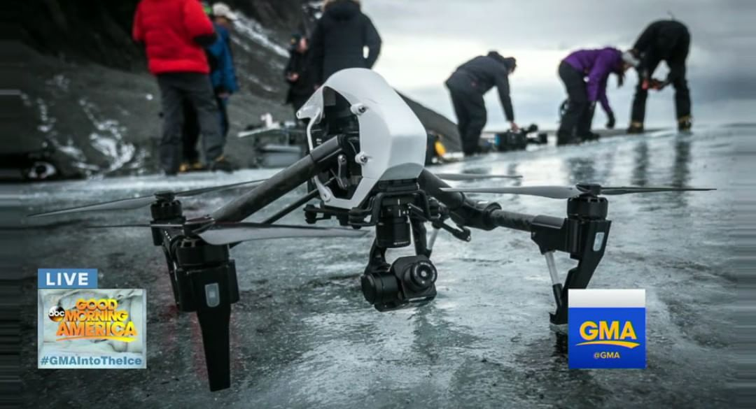 DJI's Ferdinand Wolf, his Inspire 1 and our intrepid team of glacial explorers are taking on Iceland's toughest terrain! Check it out right here: http://bit.ly/InspireInIceland #WhatsNext